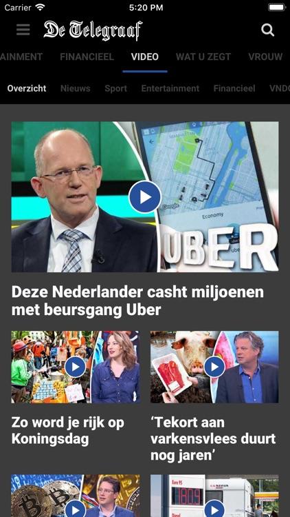 De Telegraaf nieuws screenshot-4