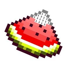Activities of PixelBook: pixel art by number