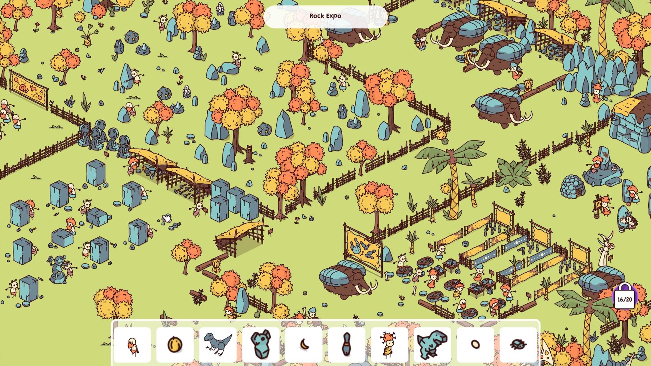 Screenshot do app Hidden Through Time