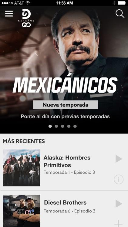 Discovery en Español GO screenshot-0