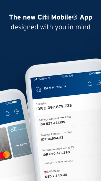 Citi Mobile IndonesiaScreenshot of 2