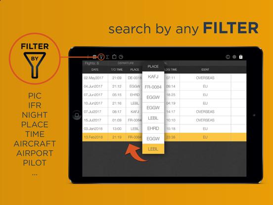 Pilot Logbook International - by FlyGoo screenshot