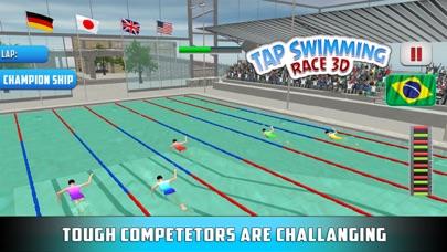 水泳レース3Dをタップするのおすすめ画像4