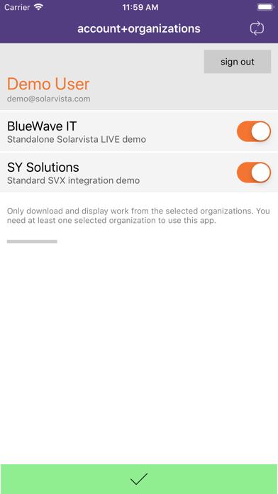 Solarvista LIVE screenshot two