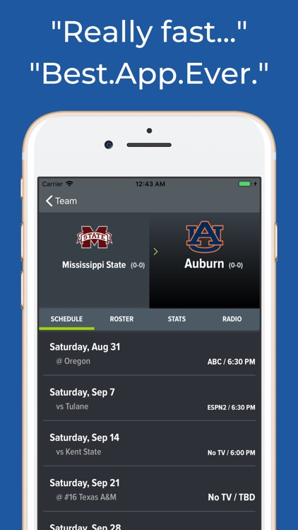 Mississippi State Football App screenshot-8