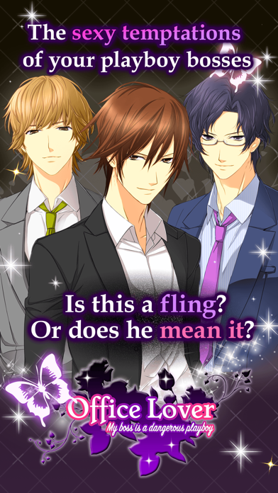 Office Lover -Otome dating sim screenshot two