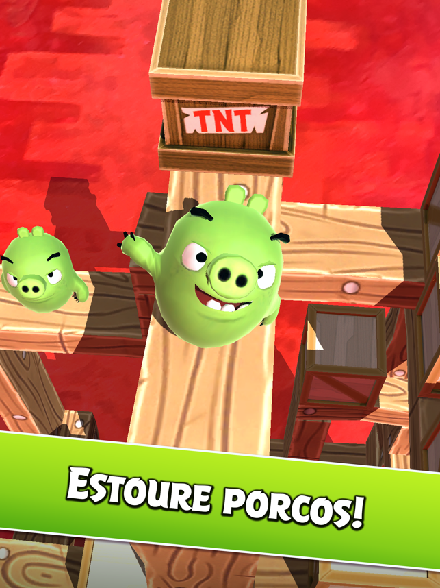 ‎Angry Birds AR: Isle of Pigs Screenshot