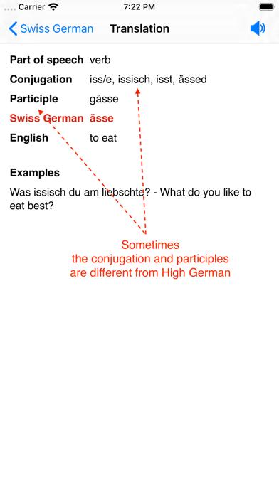 Swiss German Dictionaryのおすすめ画像7