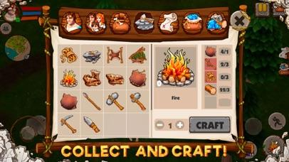 Caveman Island Survival Sim 3D-3