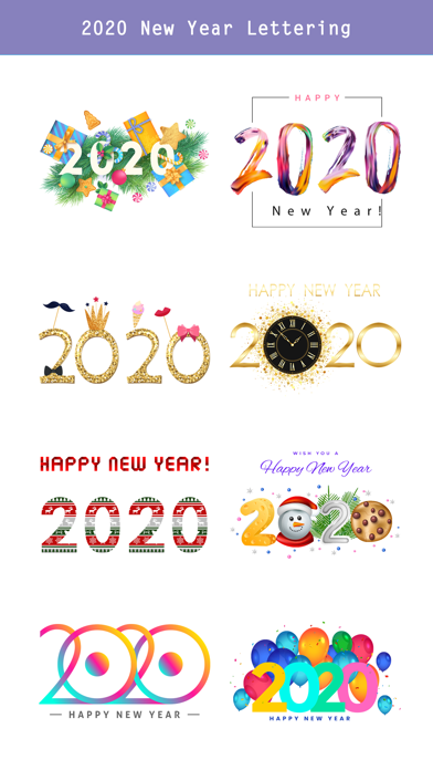 Happy New Year - 2020 Stickers screenshot 4