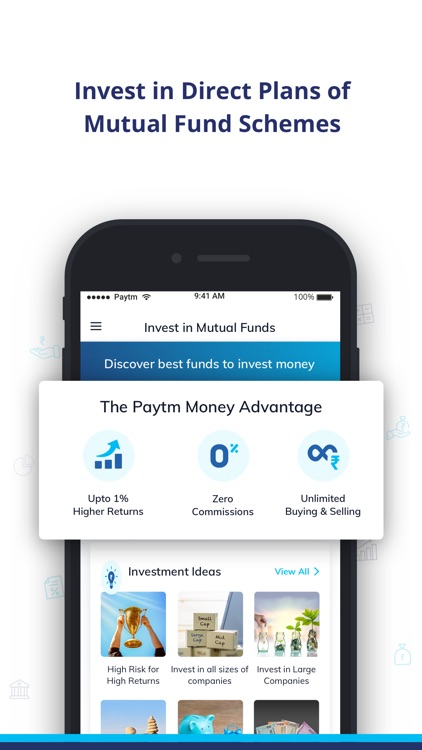 Paytm Money Mutual Funds App
