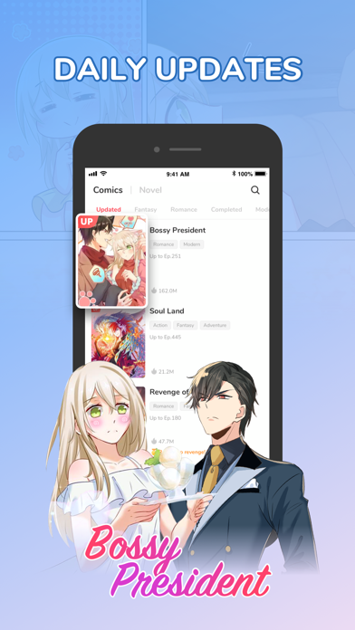 MangaToon-Comics Updated Daily Screenshot