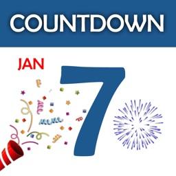 Countdown Clock Timer App