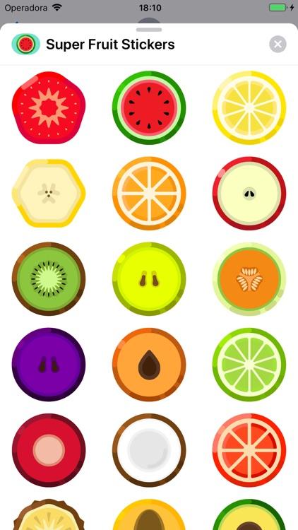Super Fruit Stickers