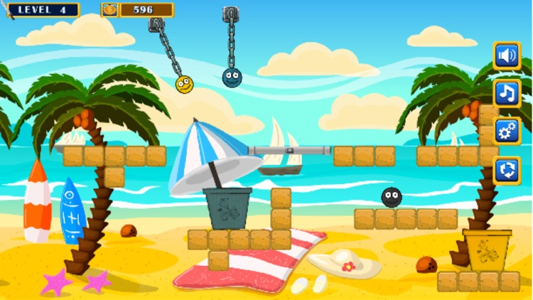 Puzzle Beach Ball Drop!