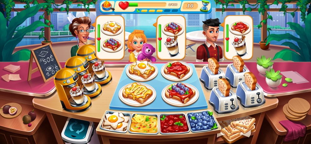 Cooking Marina – Cooking games Cheat Codes