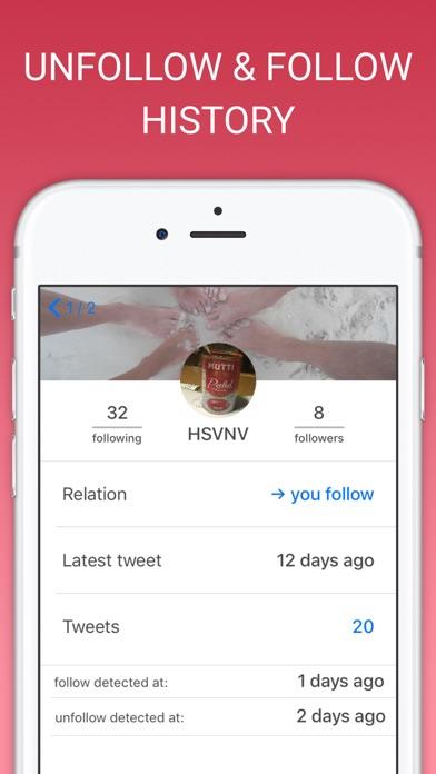Unfollow Tweeps for Twitter app image