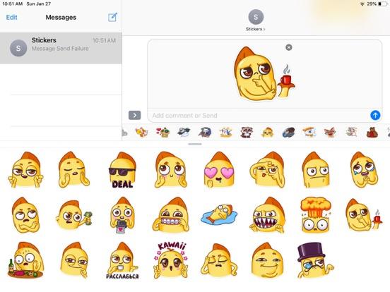 Snappy Emoji Funny Stickers screenshot 4