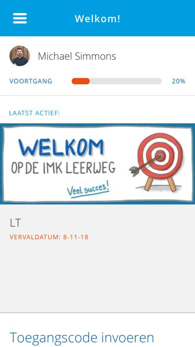 IMK LerenOnLine screenshot one