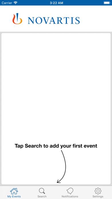 messages.download Novartis Event Engagement software