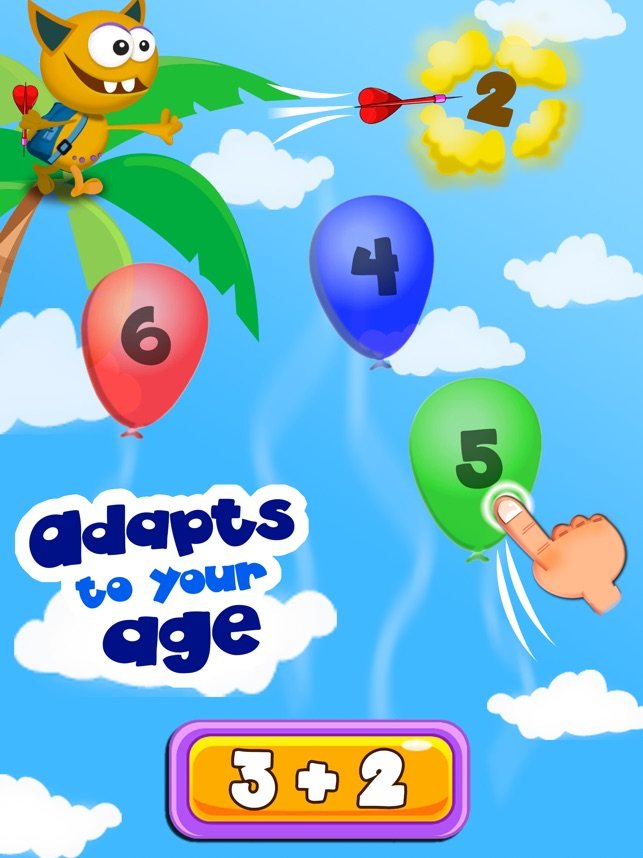 Math games for kids with Buddy Screenshot