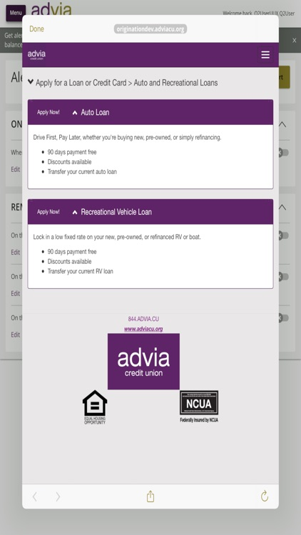 Advia Mobile Banking