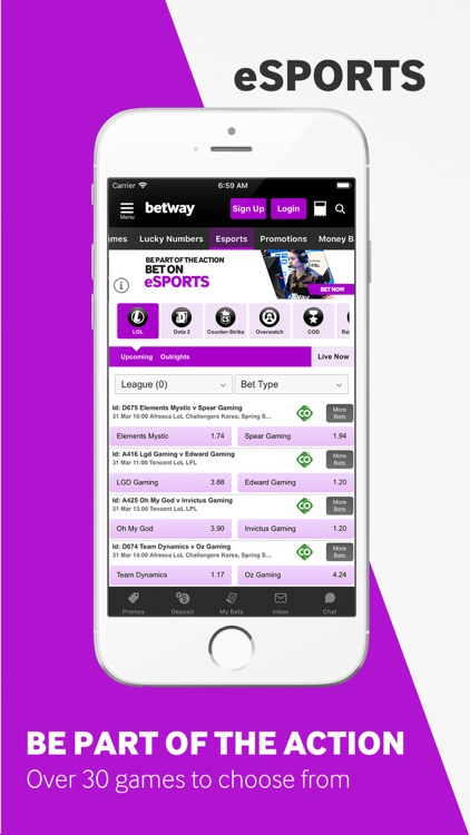 Betway - Sports Betting screenshot-5