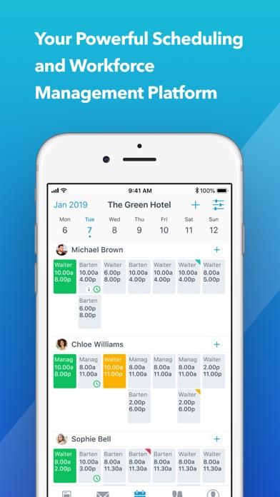 Planday Employee Scheduling screenshot one