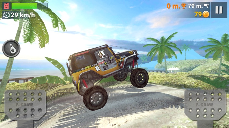 Off-Road Travel: Road to Hill screenshot-4