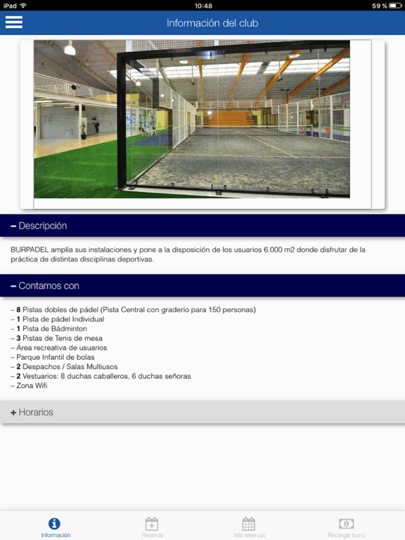 BurPadel Reservas screenshot 6
