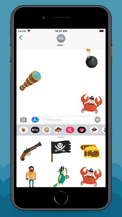 Pirate Life Stickers screenshot-5