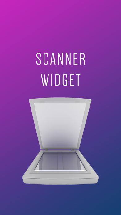 Scanner Widget屏幕截图1
