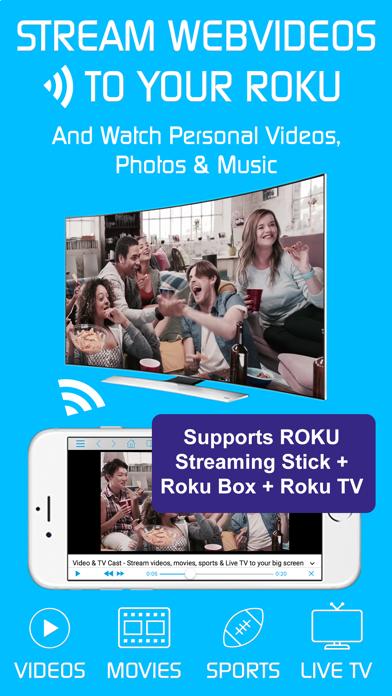 Foto do Video & TV Cast | Roku Player