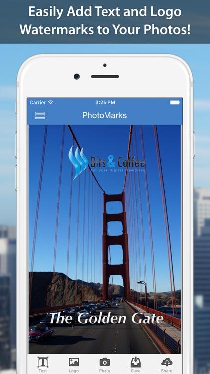 PhotoMarks - Watermark Photos
