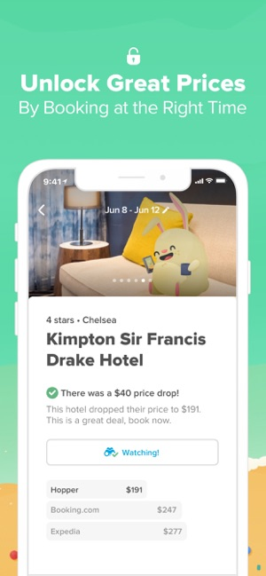 hopper book flights hotels on the app store rh apps apple com best time to buy tickets for a flight