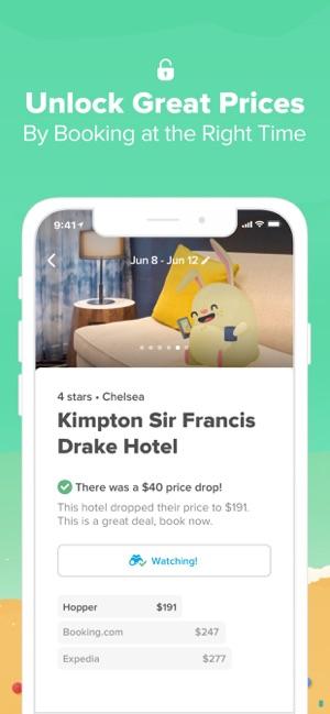Hopper - Book Flights & Hotels on the App Store