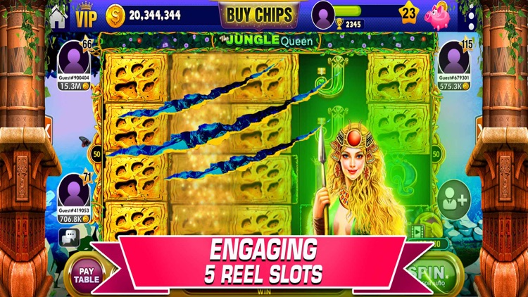 Vegas Slots - 7Heart Casino screenshot-2