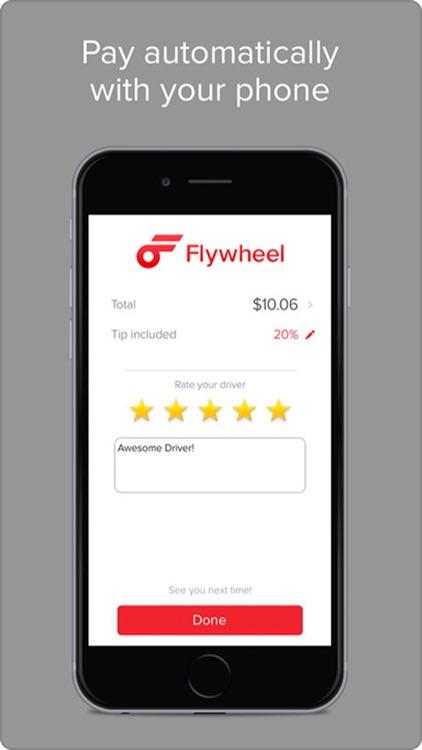 Flywheel - The Taxi App screenshot-3