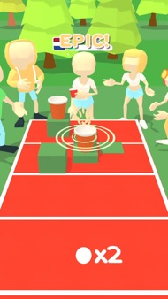 Pong Party 3D iphone images