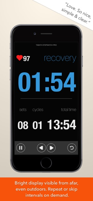BEST FREE TABATA APP IPHONE