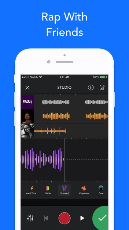 Rapchat — Rap Music Studio screenshot-3