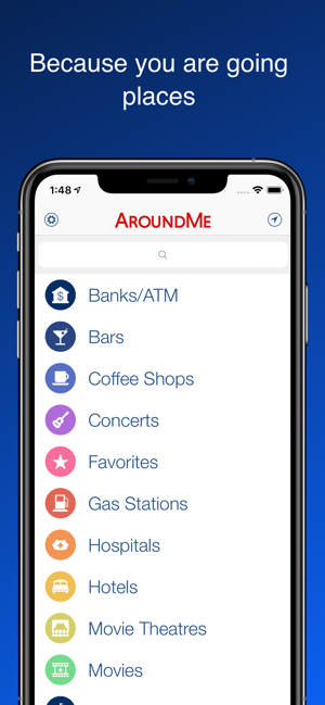 ‎AroundMe Screenshot
