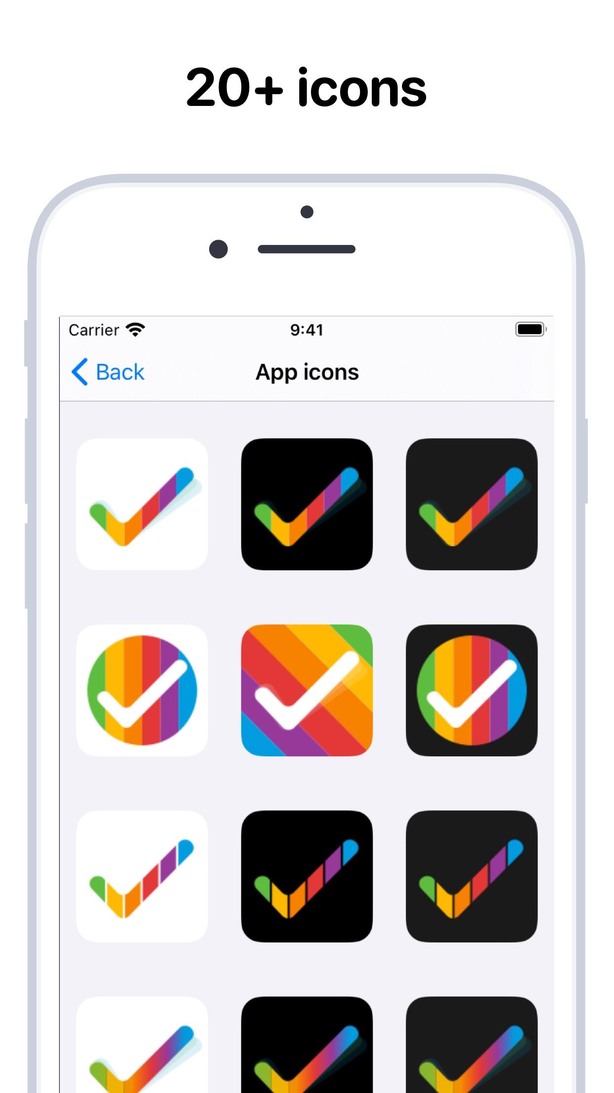 Screenshot do app Tasks: Smart Lists & Reminders