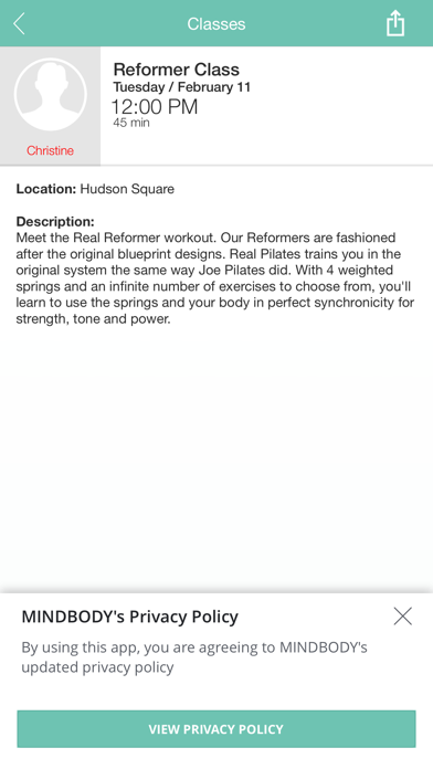 Real Pilates NYC screenshot four