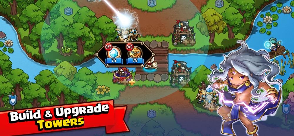Crazy Defense Heroes: RPG TD hack tool