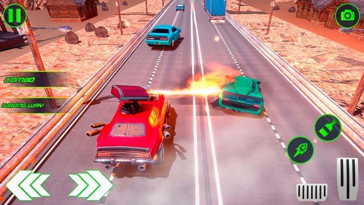 Highway Traffic Car Shooter screenshot-3