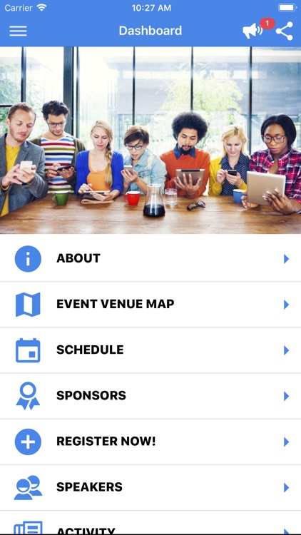 Attendee Mobile screenshot-1