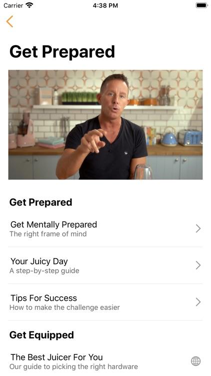 Jason Vale's 5-Day Juice Diet screenshot-3