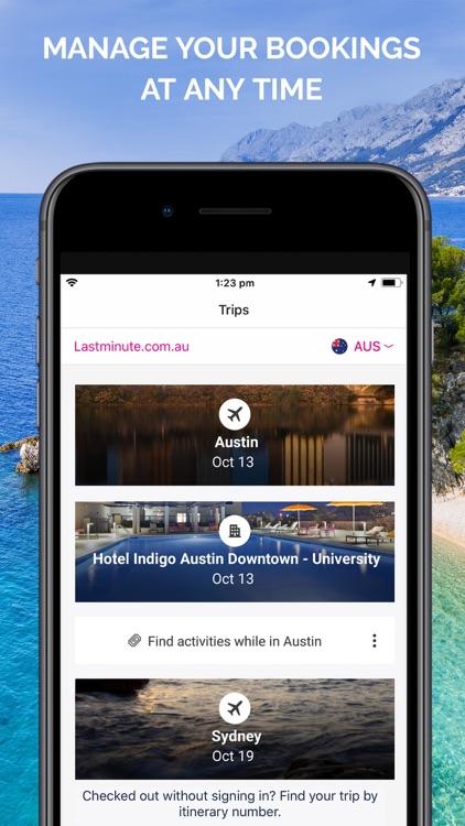 Lastminute Hotels & Flights screenshot-4