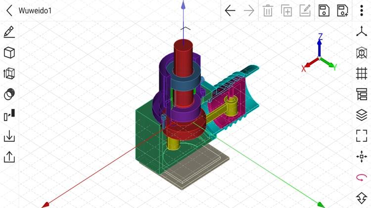 CAD 3D Modeling - Wuweido screenshot-7